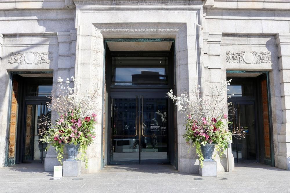 art in bloom, boston wedding florist