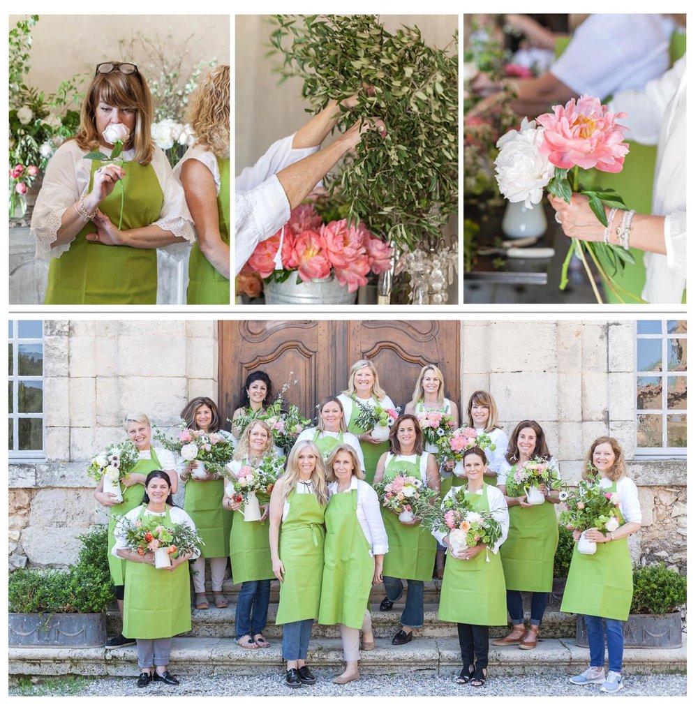 les fleurs andover sandra sigman sharon santoni france trip 2018