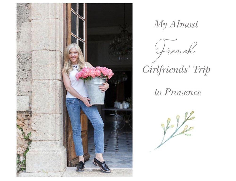 sandra sigman shopping trip tour provence france