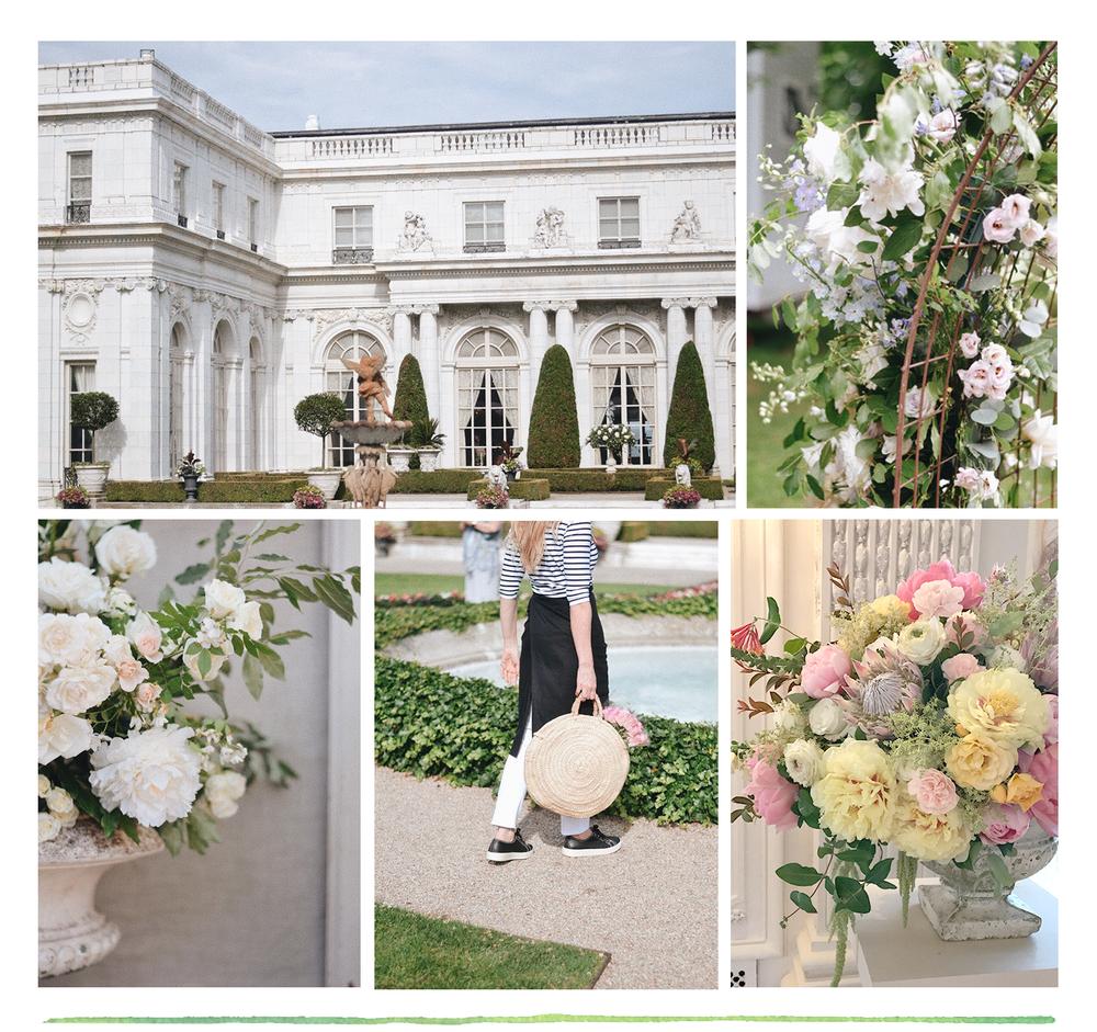 les fleurs andover newport mansions flower show arrangements