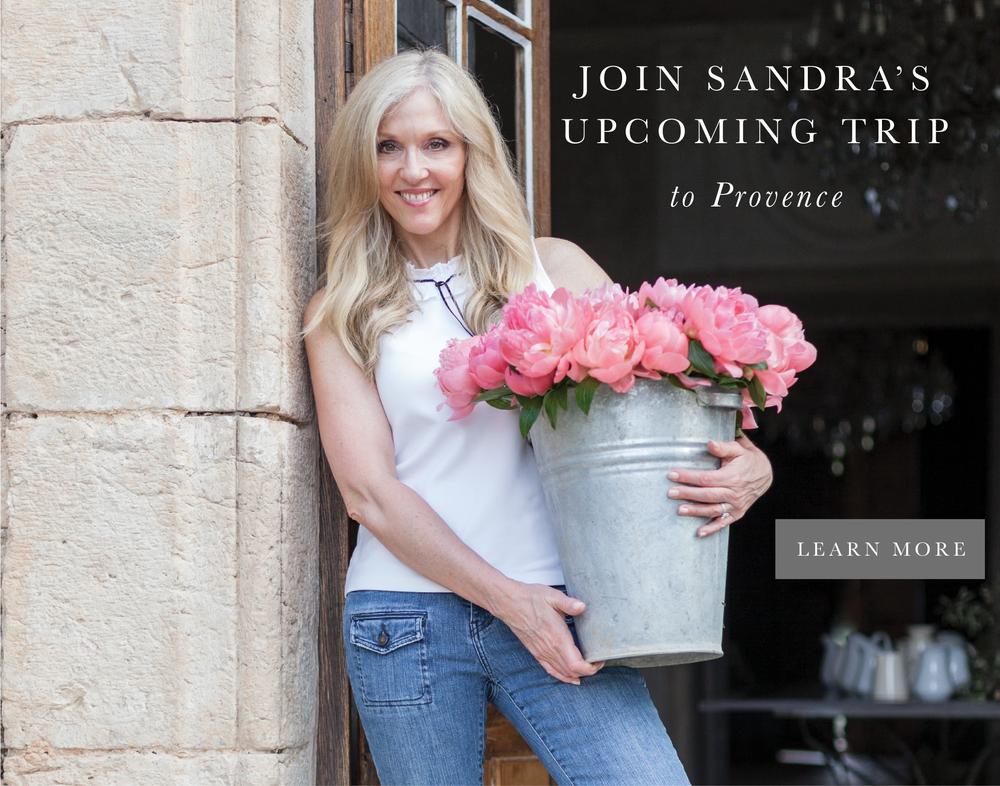 Sandra's trip to France fresh flower design workshop