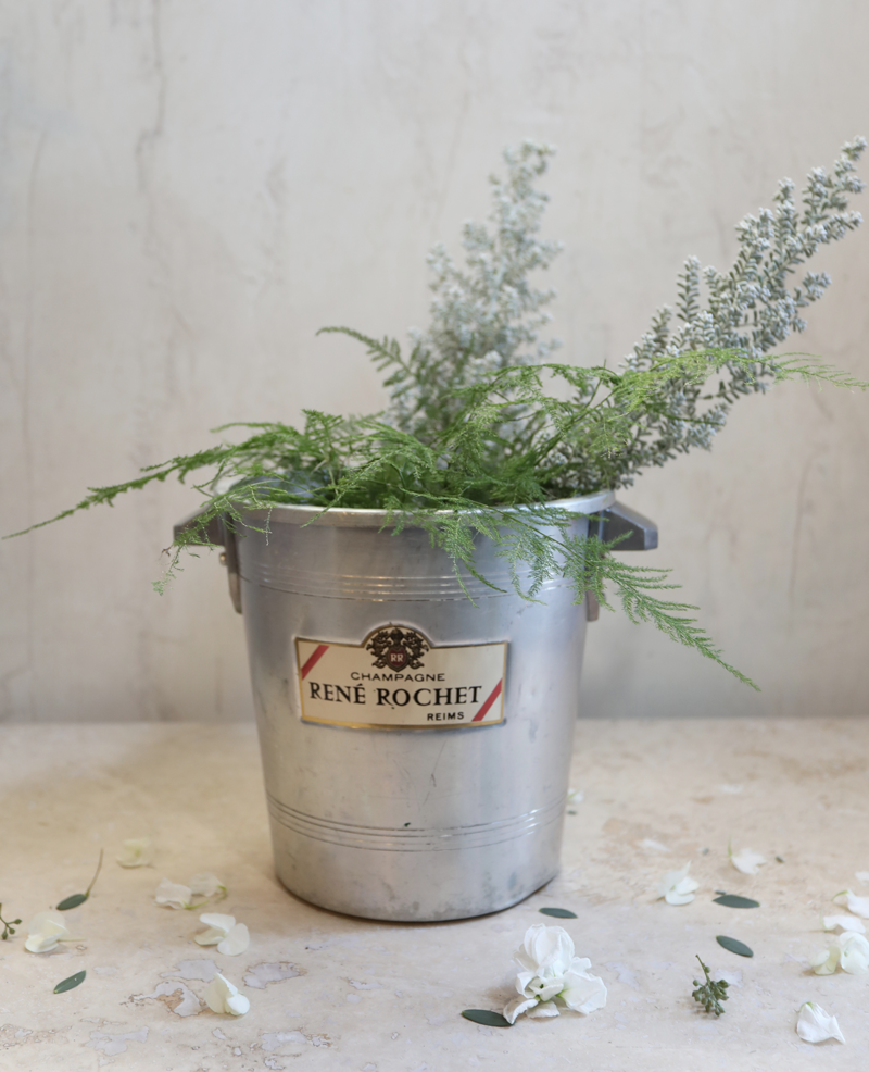 les fleurs andover french champagne bucket rene rochet with lavender
