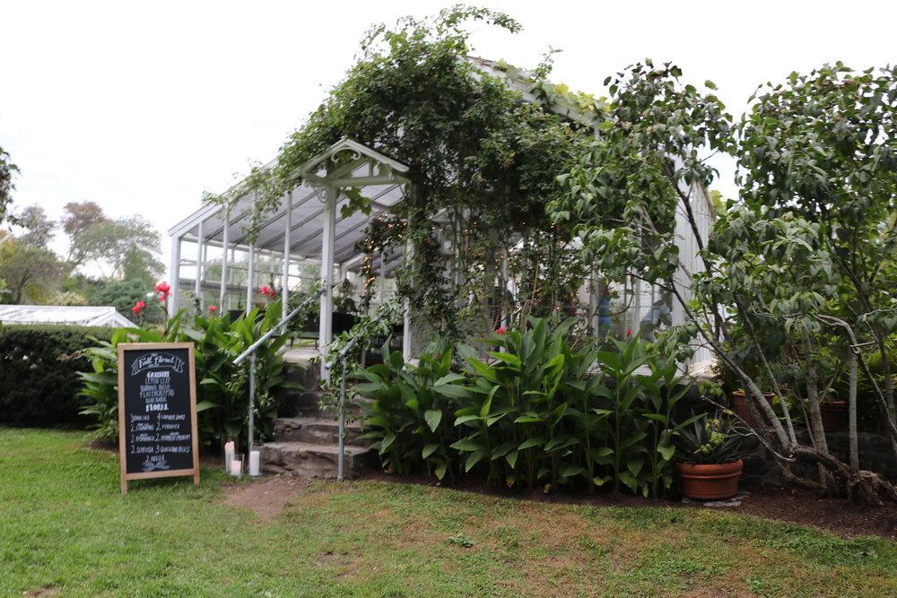 Stevens-Coolidge Estate Les Fleurs Andover flower workshop