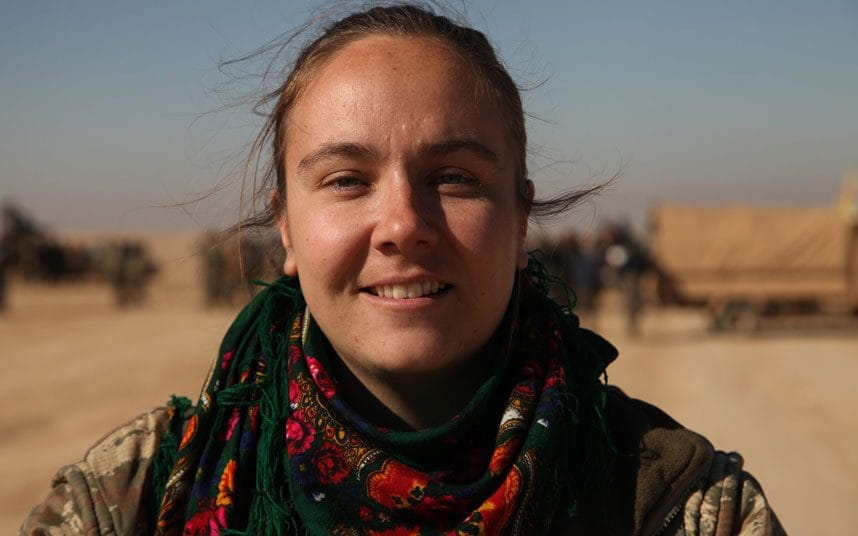 "I'M SITTING IN AN ISIS MANSION…"" – AN INTERVIEW WITH BRITISH YPJ VOLUNTEER KIMMIE TAYLOR"