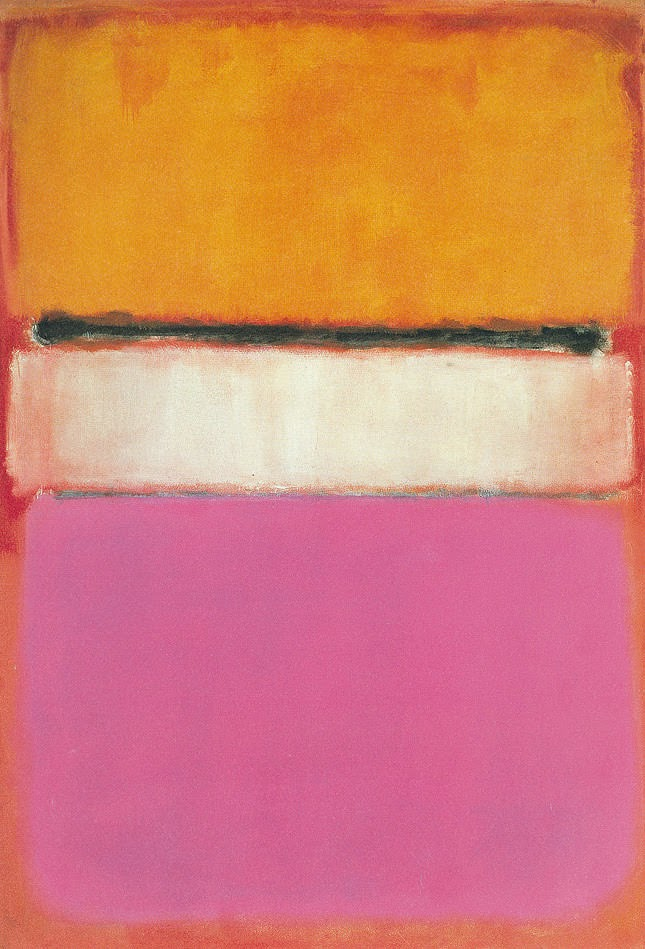 Mark Rothko. White Center, 1950.