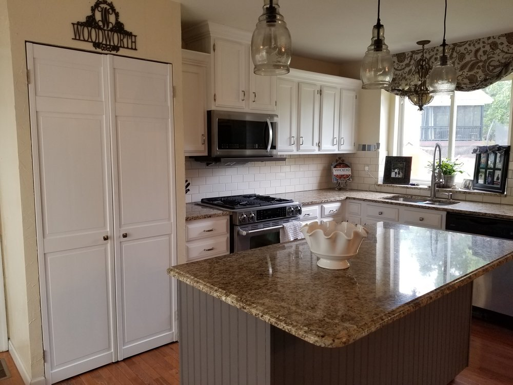 Snow White Cabinets