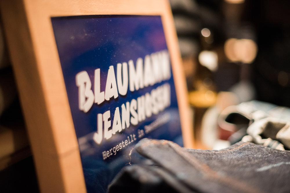 Iovino Cloth & Indigo führt Schweizweit das Grösste Blaumann Jeanshosen Sortiment