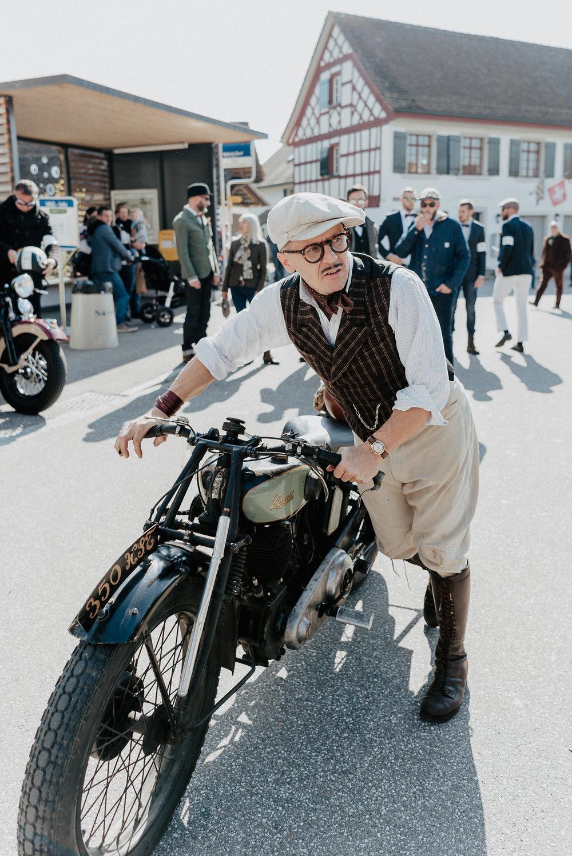 Am 1. Gentlemans Ride in Winterthur