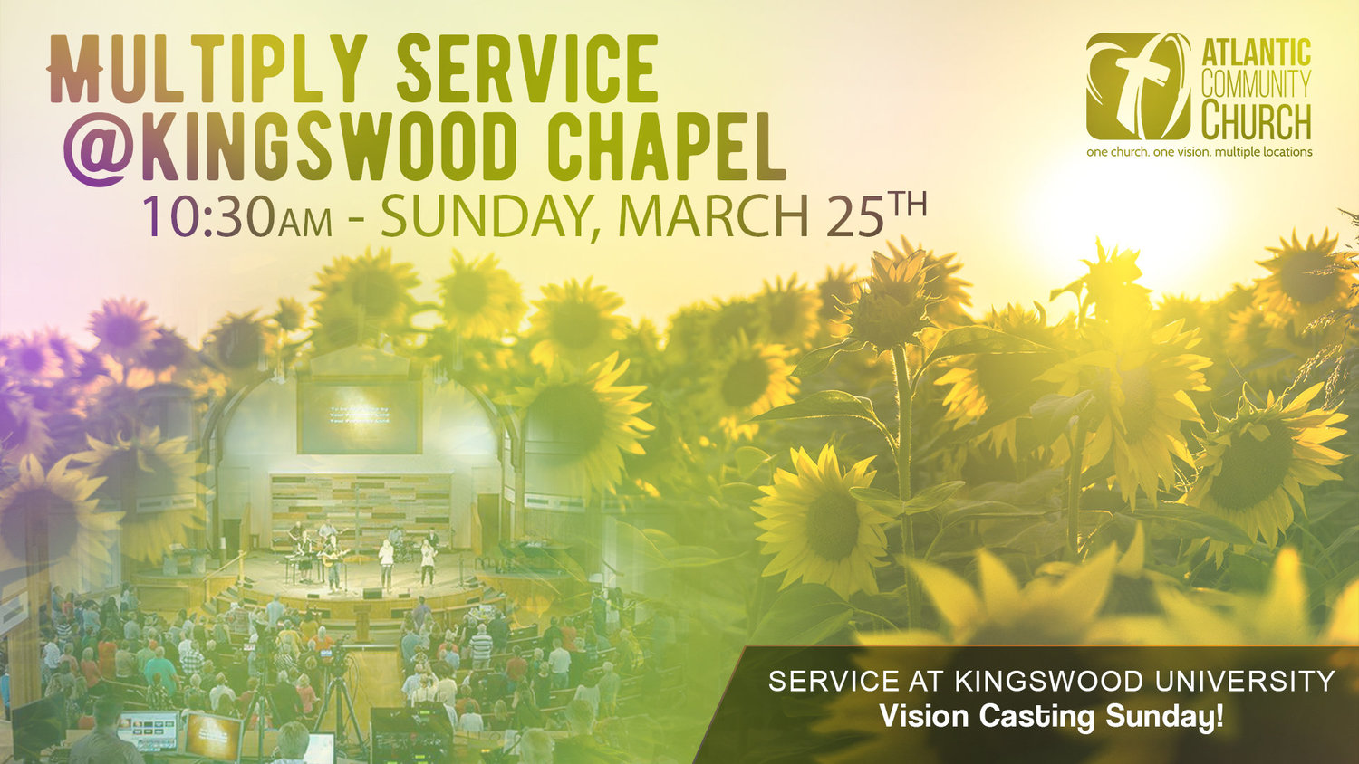Multiply Combined Service at Saunders Irving Chapel