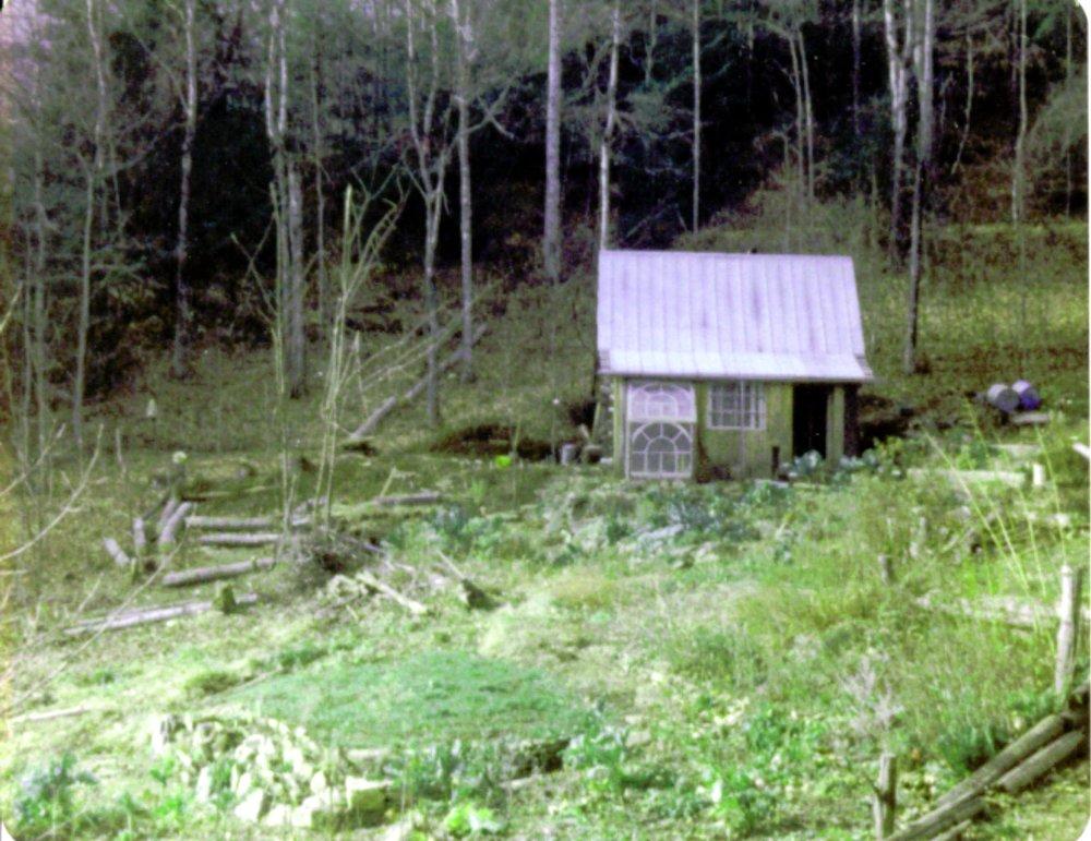 1976 drive to cabin.JPG