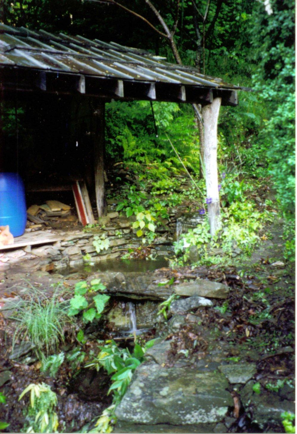 1996 waterfall by cabin.JPG
