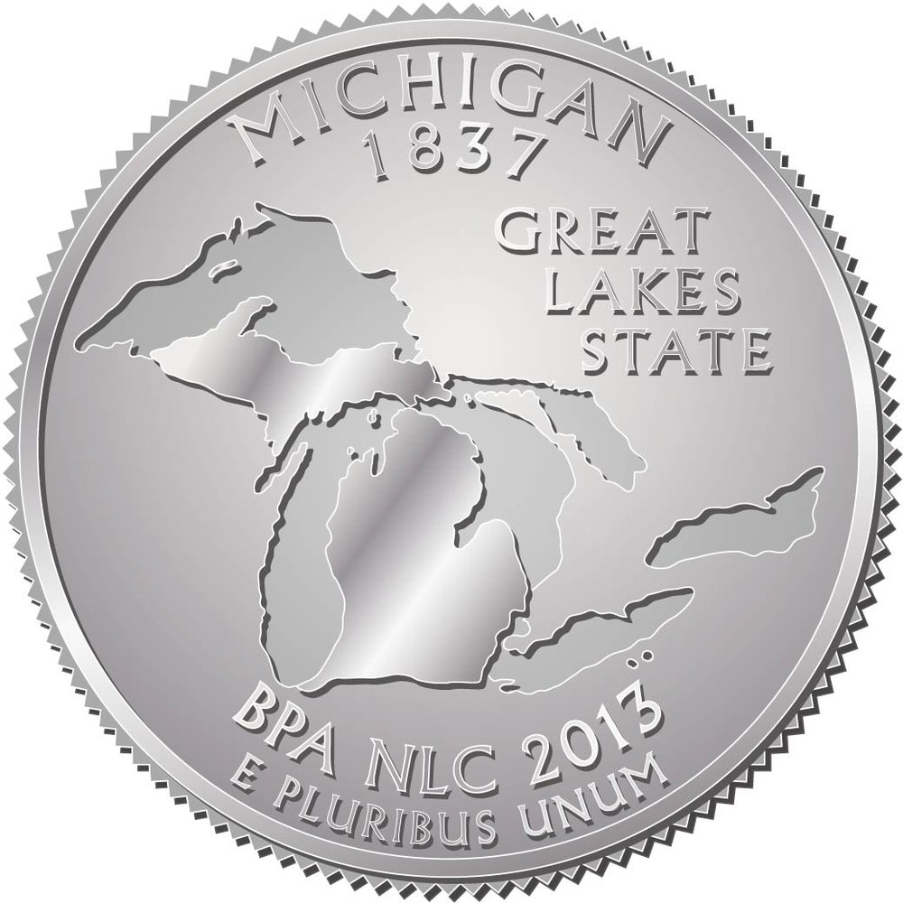 2013 NLC Pin Michigan Coin