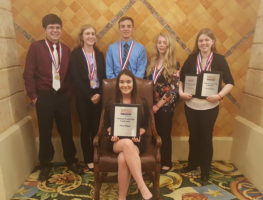 Westwood HS - 2018 NLC - Westwood students earned 9 top 10 awards, including 1st, 2nd, and 3rd place awards
