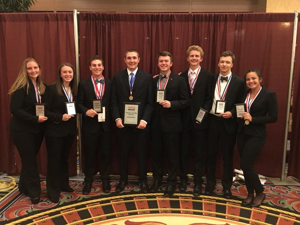 Midland HS - 2018 NLC - 2nd place Parliamentary Procedure Team