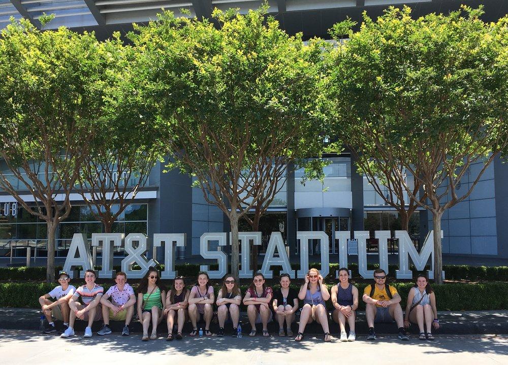 Stephenson HS - 2018 NLC - AT&T Stadium Tour