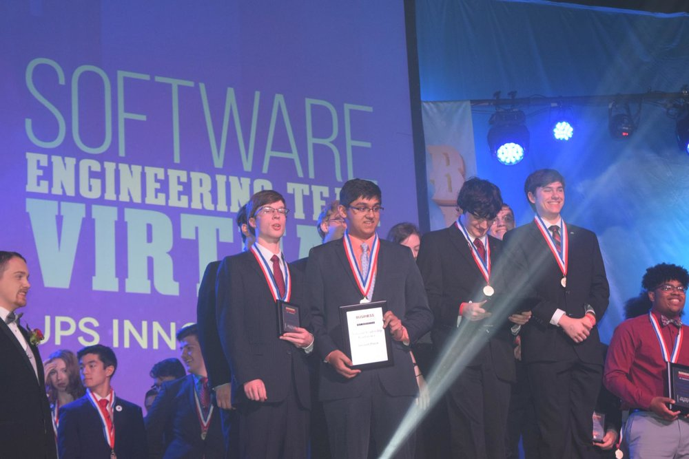 Sturgis HS - 2018 NLC - 1st Place Best in Show Software Engineering Team