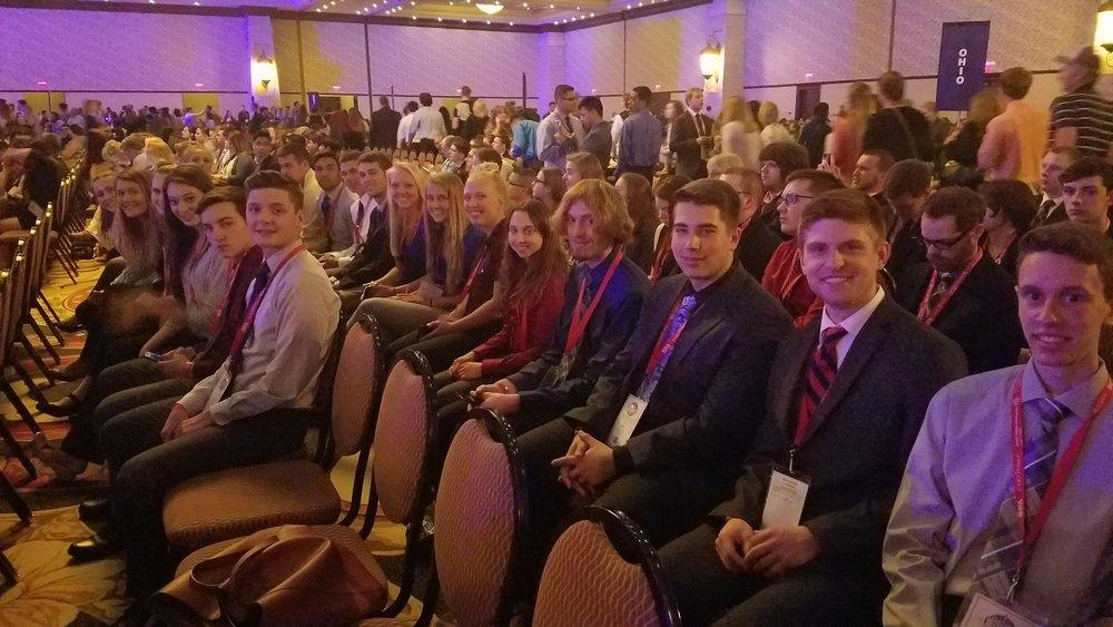 DeWitt High School - 2018 NLC - Opening Session