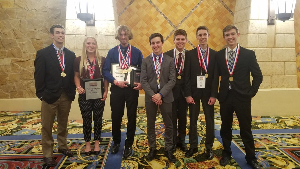 DeWitt High School - 2018 NLC - Top 10 winners