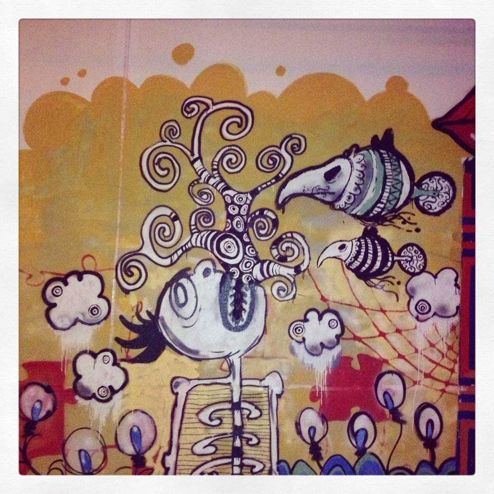Street Art at Tiger Translate, Dubai