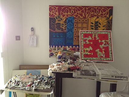 Studio of Artist Kate Toledo