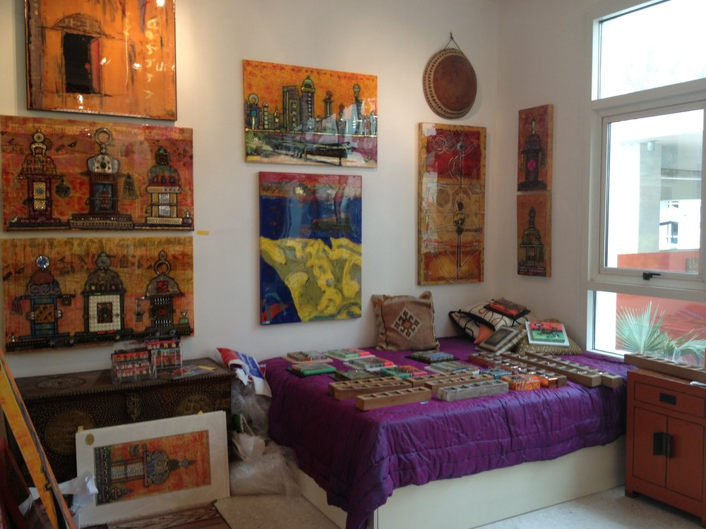 Artist Studio of Emily Gordon