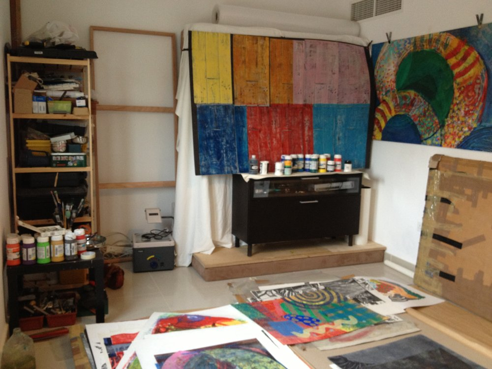 Artist Studio of James Matthews
