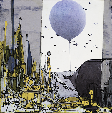 Baloon by Fathima Mohuiddin