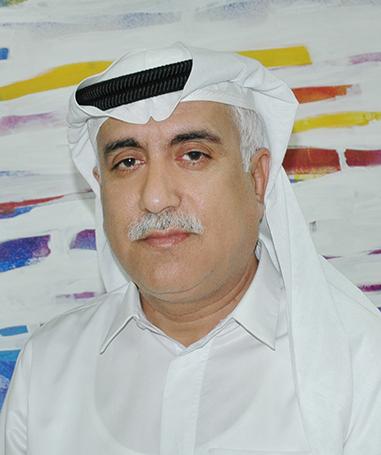 Artist Mohammad Al Qassab
