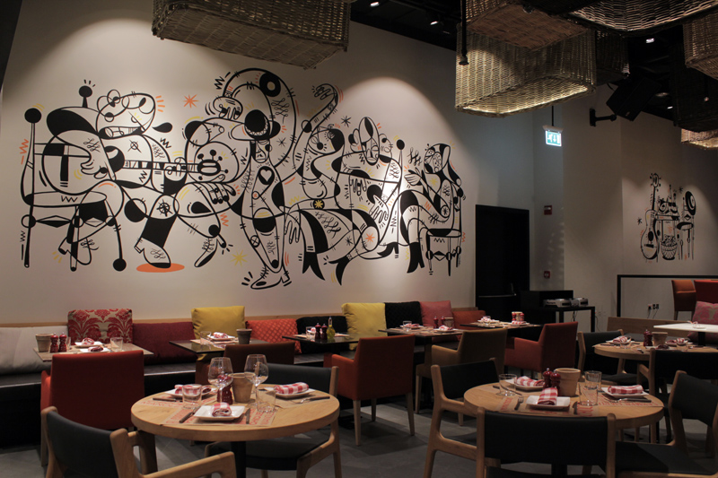 Salero Tapas & Bodega at Kempinski Mall of the Emirates, Dubai
