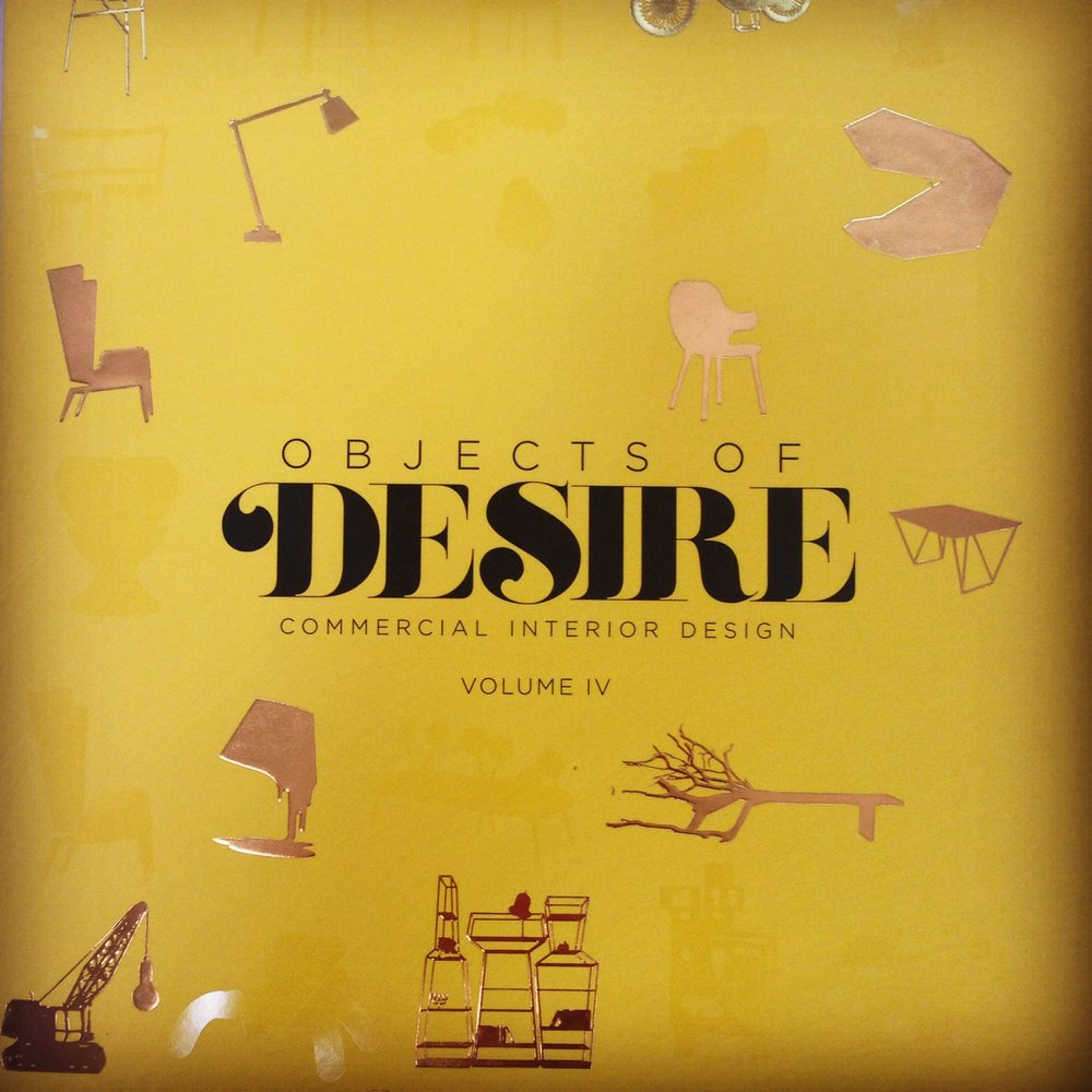 The cover of our favourite new office book, Objects of Desire, Volume IV