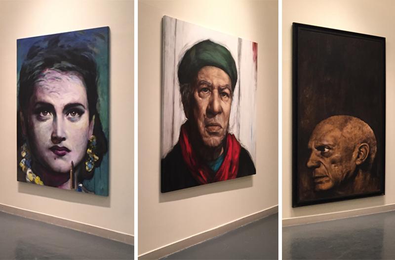 Portraits by Hamed Alhenawi