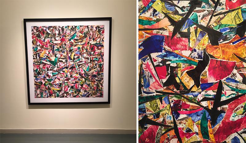 Khalid Al Banna's vibrant abstractions