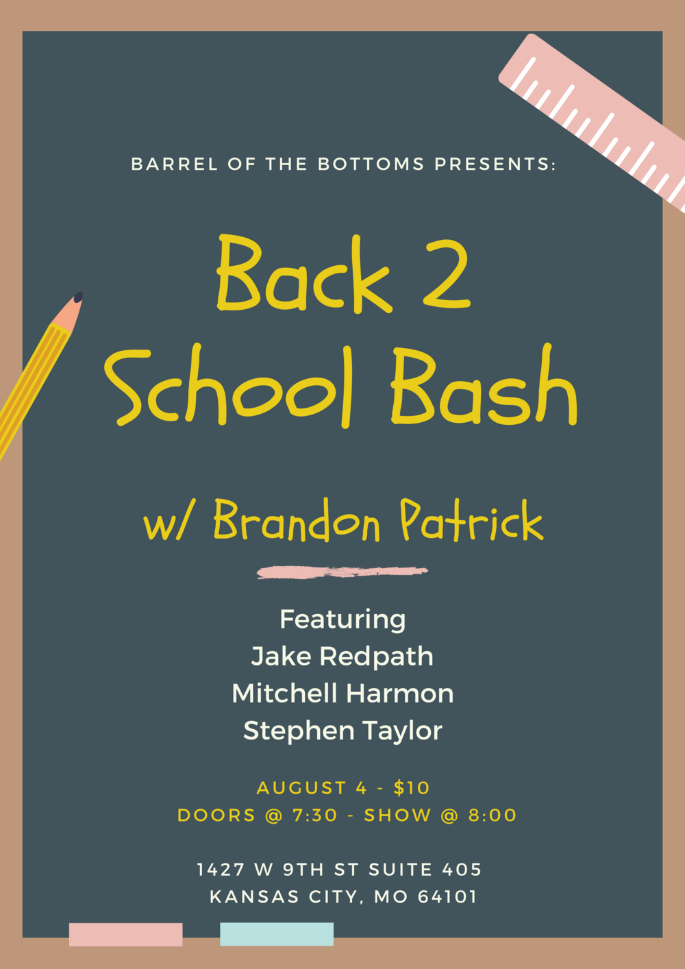 Events — Barrel of the Bottoms