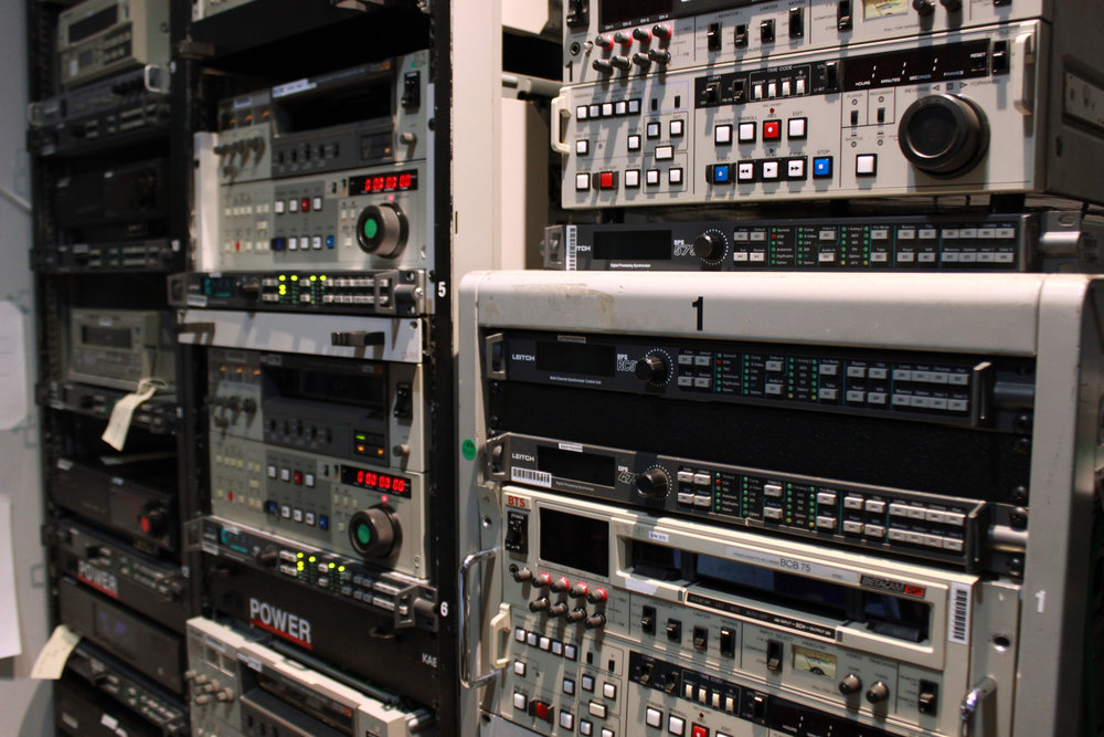 Video Transfer Racks