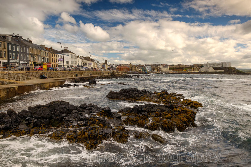 Photo Of Portstewart Promenade by Gilbert Lennox