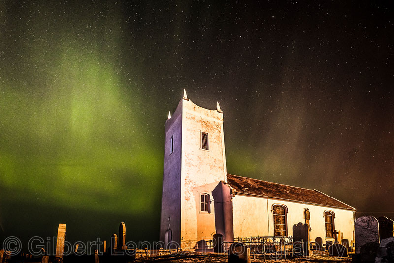 Northern Lights Northern Ireland By Gilbert Lennox