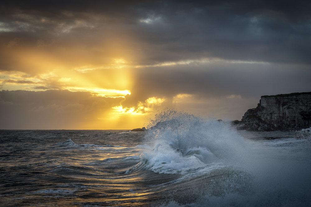 Morning Wave, Ballintoy
