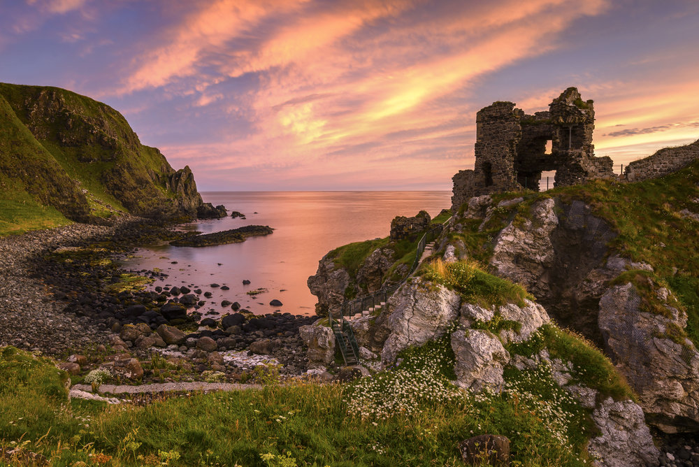 The Colours of Day, Kinbane Castle