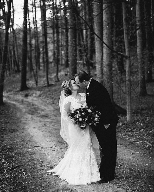Molly and John 🧡  #blackandwhite #weddingday #springwedding #love #weddingphotography