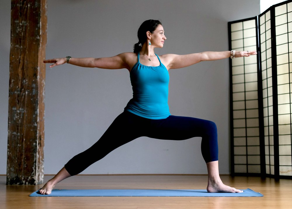 virabhadrasana II warrior 2 yoga bushwick jai yoga arts