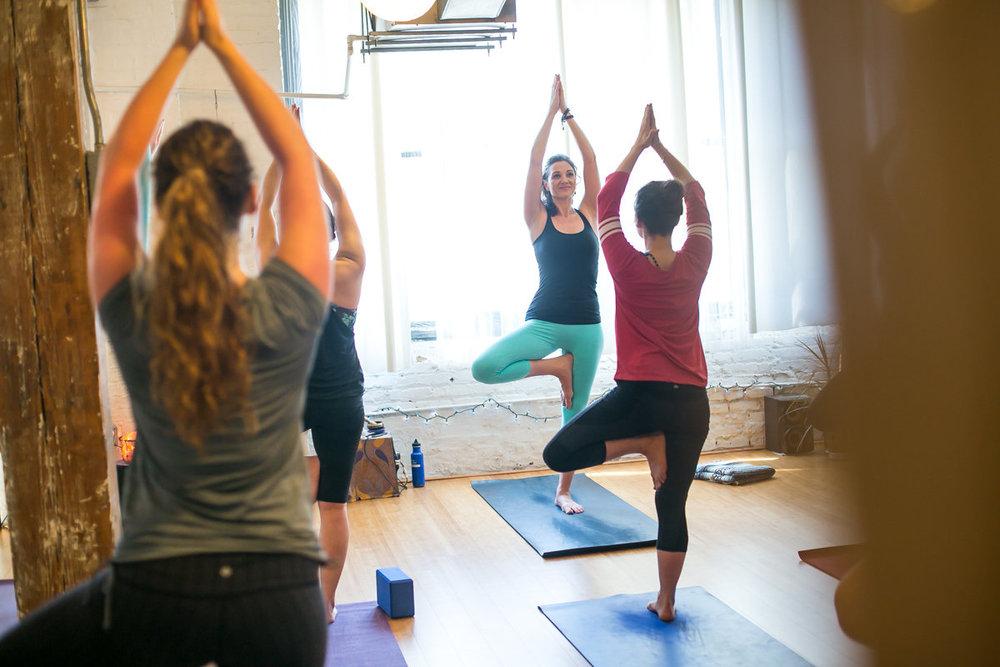 Easy Flow Vinyasa Jai Yoga Arts Bushwick Brooklyn Yoga Morgan L
