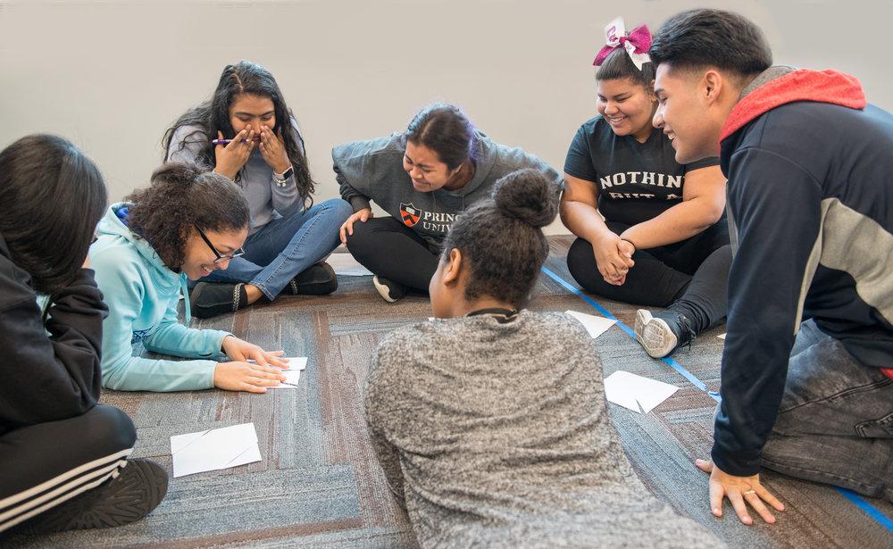 PHS Students Laugh Broken Squares 2018.jpg