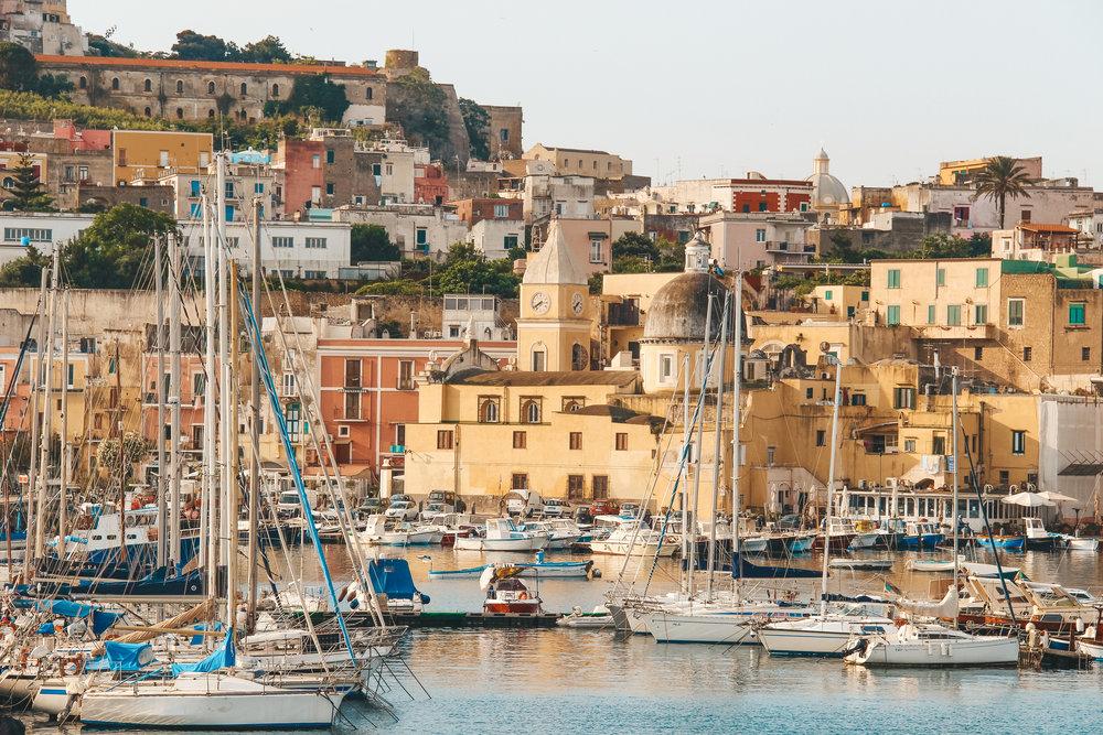 Know Before You Go - Plan to visit Procida & Ischia (2 nights); Capri (2 nights); Positano (2 nights); Amalfi (1-2 hours); Ravello (1 night); and Naples & Pompeii (1 night before/after flight).
