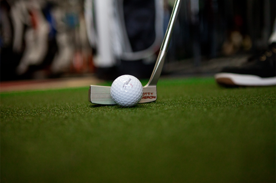 Putters - Don't let the green handicap your game. Here, you will find the right putter, the right style, and the right price. Our putters include Scotty Cameron, TaylorMade, Stx, Cleveland, Yes, Rife, Odyssey, and PING.