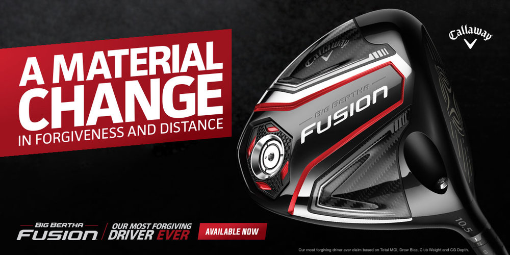 Callaway Big Bertha Fusion Driver Golf Etc Lakeland