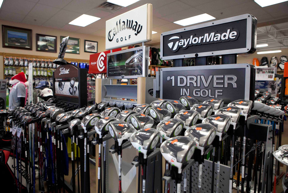 Custom Fittings  - Using our state of the art technology, our fitting pros, who specialize in enhancing your game, will fit you to your clubs. Any driver, fairway wood, hybrid, iron, wedge, and putter, can be custom fitted. We can even fit you for the best golfball for your game. Sign-up for a Custom Fitting today.