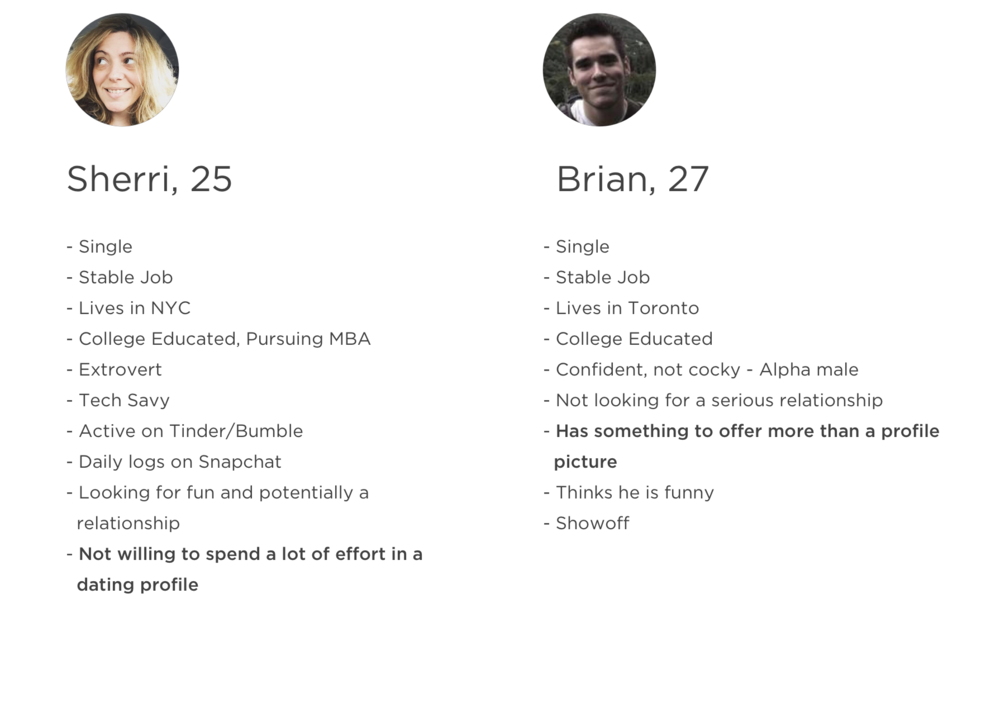 Cocky dating profile