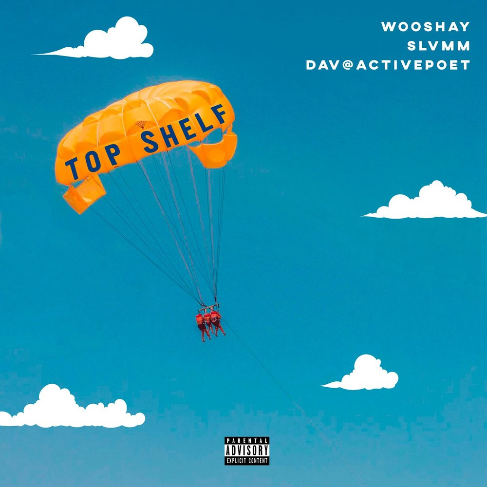 Top Shelf - With this collaboration with Dav @activepoet & Slvmm, Wooshay was set on tapping into the hip-hop market with an acoustic twist. Using a guitar, a silver mic, and a green truck, Wooshay & friends also worked together to create an awesome music video with SB Films!