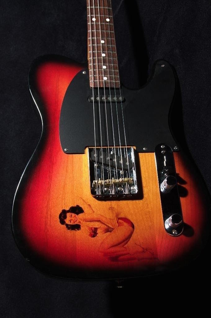GZ Guitars Pin-up Tele