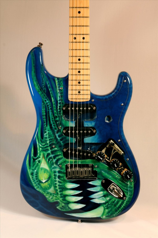 Monster Stratocaster